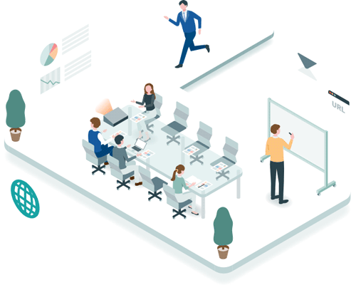 事業推進のための採用、 組織づくり支援のための サービスで 事業の推進力UPを実現。
